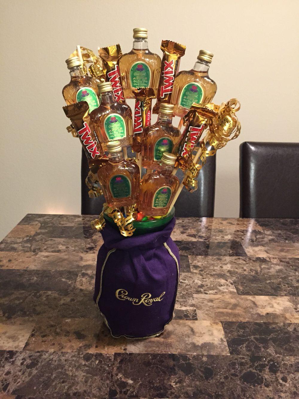 Crown arrangementcrown bouquetmade by me