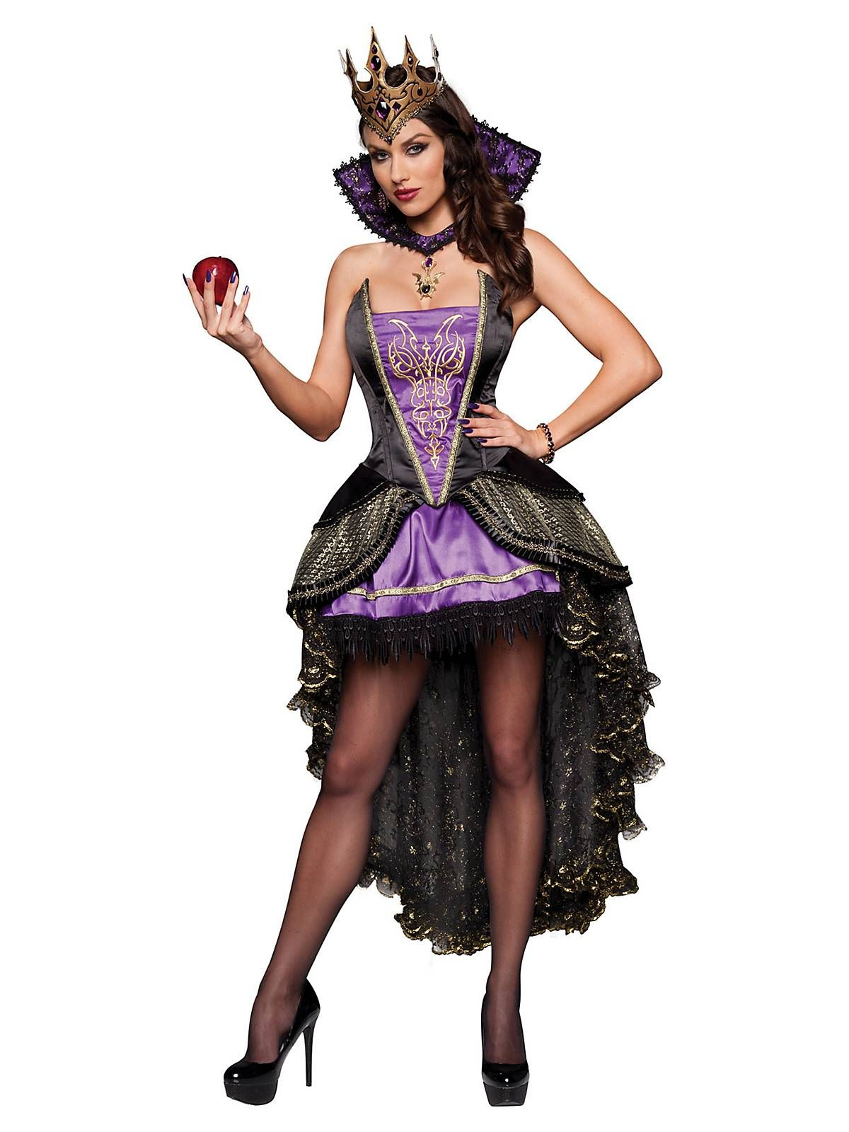 Deluxe Evil Queen Costume | Sexy Fairytale Halloween Costumes ...