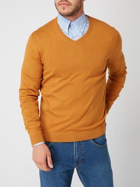 206a73fd5075 MONTEGO Pullover mit V-Ausschnitt in Braun online kaufen (9823922) ▷ P C  Online