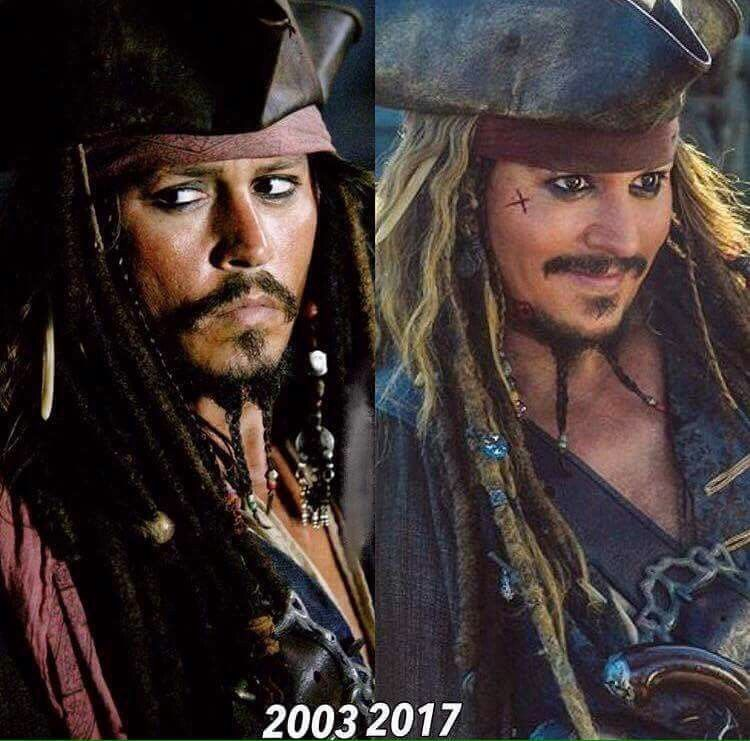 They Haven T Changed One Bit According To Their Cuteness Johnny Depp Funny Captain Jack Sparrow Quotes Captain Jack Sparrow