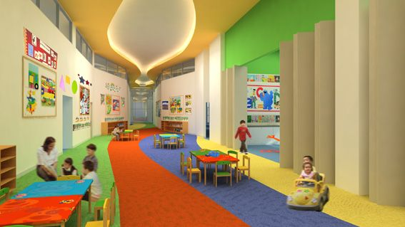 wow! a learning corridor , how fun would this be