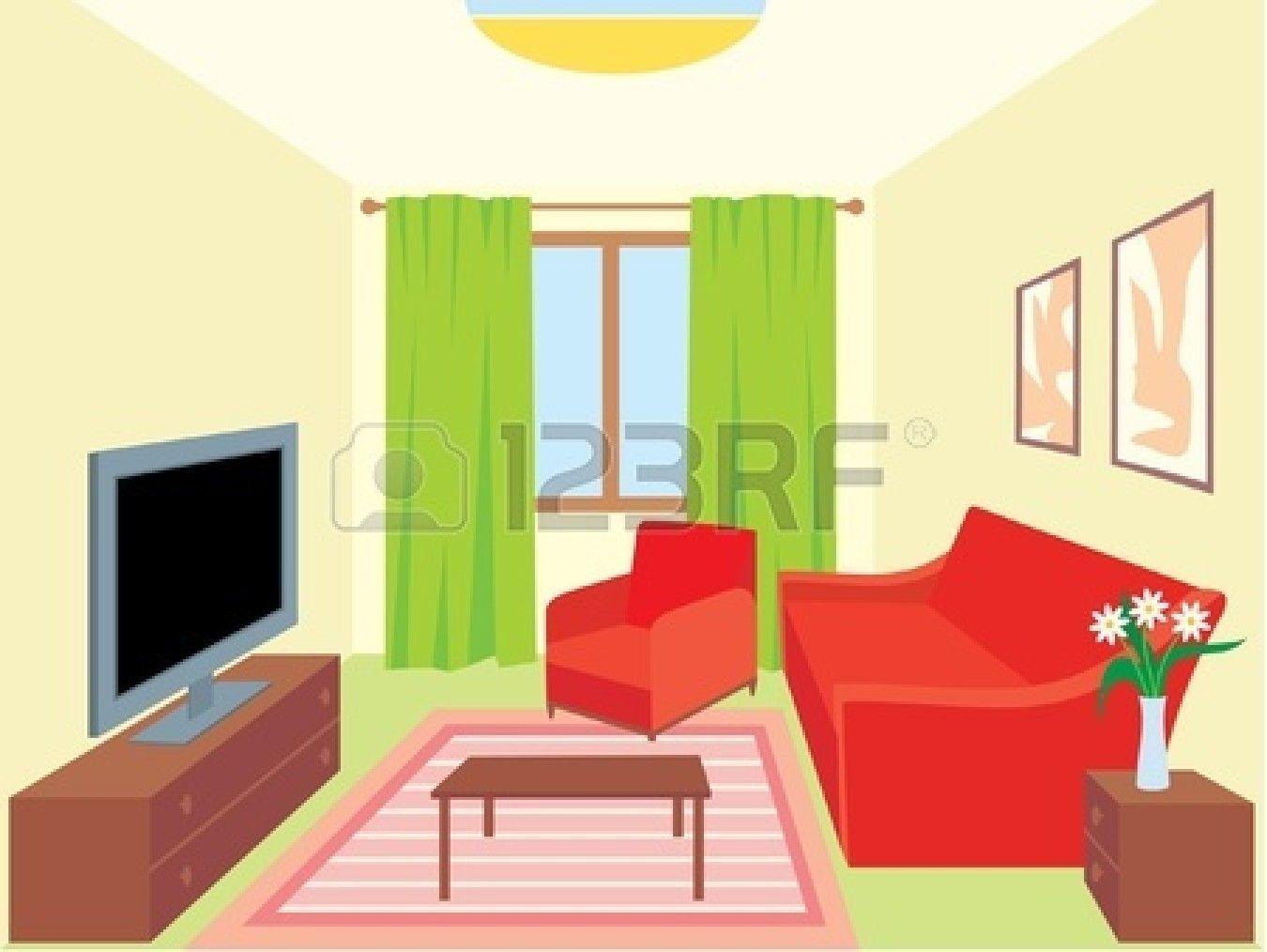 Cartoon Interior House Google Search Living Room Vector Living Room Clipart Living Room Images