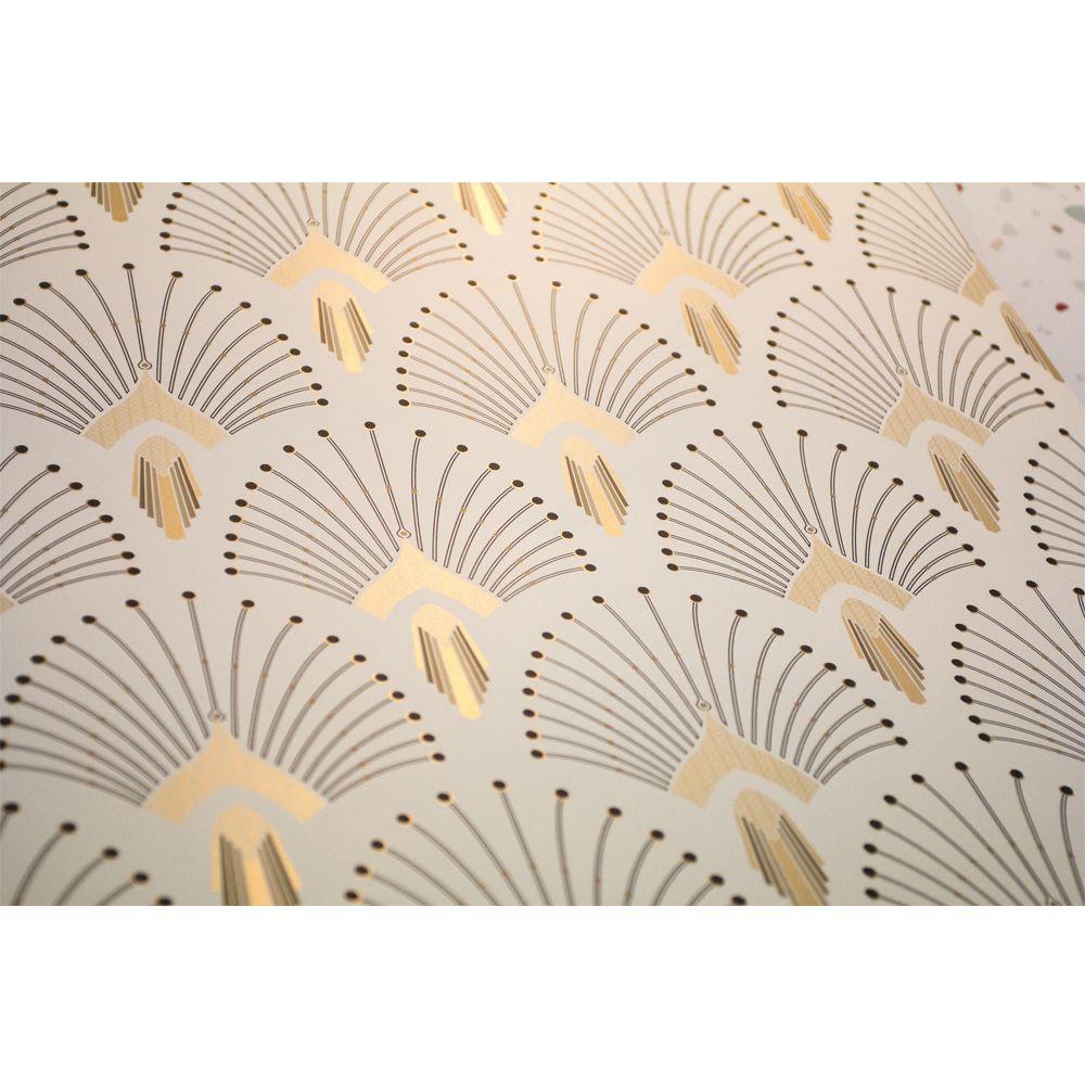 papier peint 1925 traditional beige papier peint peindre et clichy. Black Bedroom Furniture Sets. Home Design Ideas