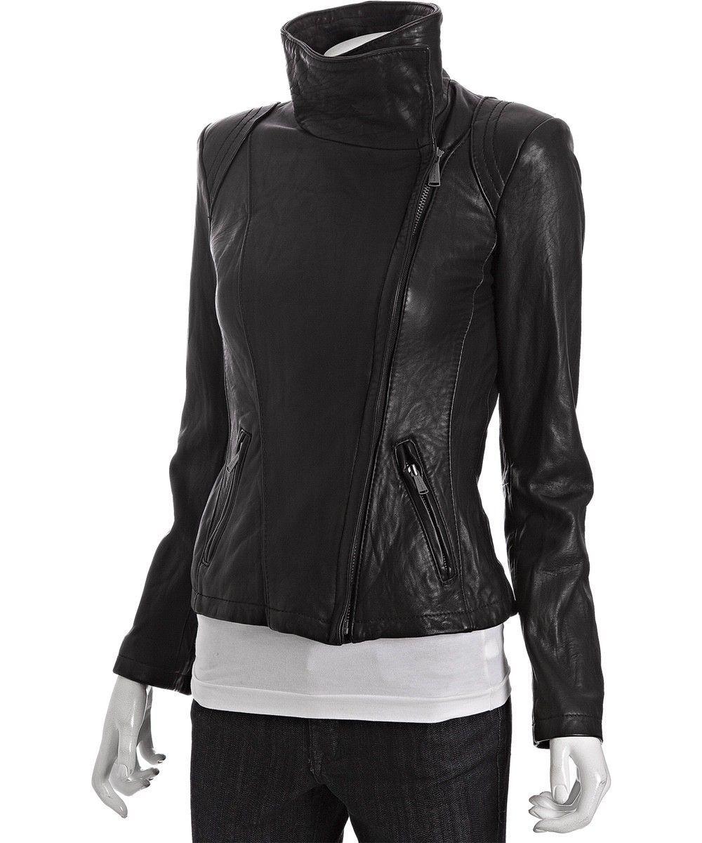 Micahel Michael Kors Black Asymmetrical Leather Zip Moto Jacket Size Xs Xsp Leather Jackets Women Michael Kors Black Michael Kors Jackets [ 1200 x 1000 Pixel ]