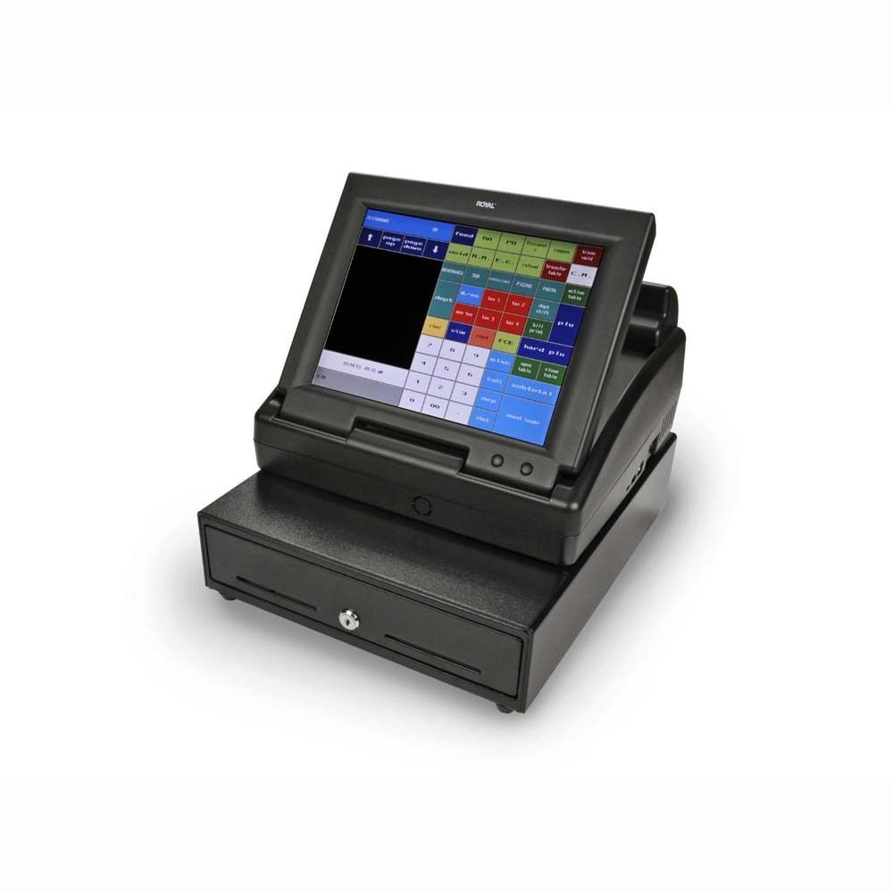 Royal TS1200MW Touchscreen Cash Register with 12