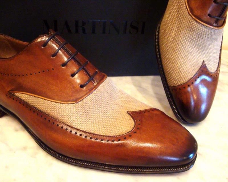 Luxury Leather Shoes By Martinisi Obuv