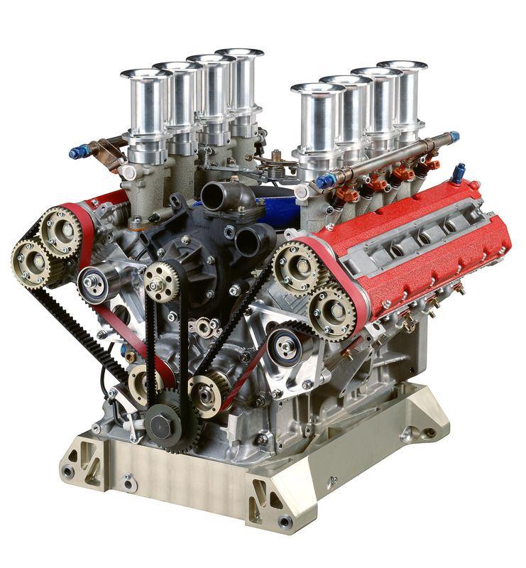 Beautifully Engineered Ferrari F355 Engine By Toda Engineering Ferrari Race Engines