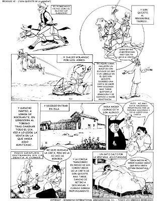 Lengua Castellana y Comunicación: Don Quijote de la mancha