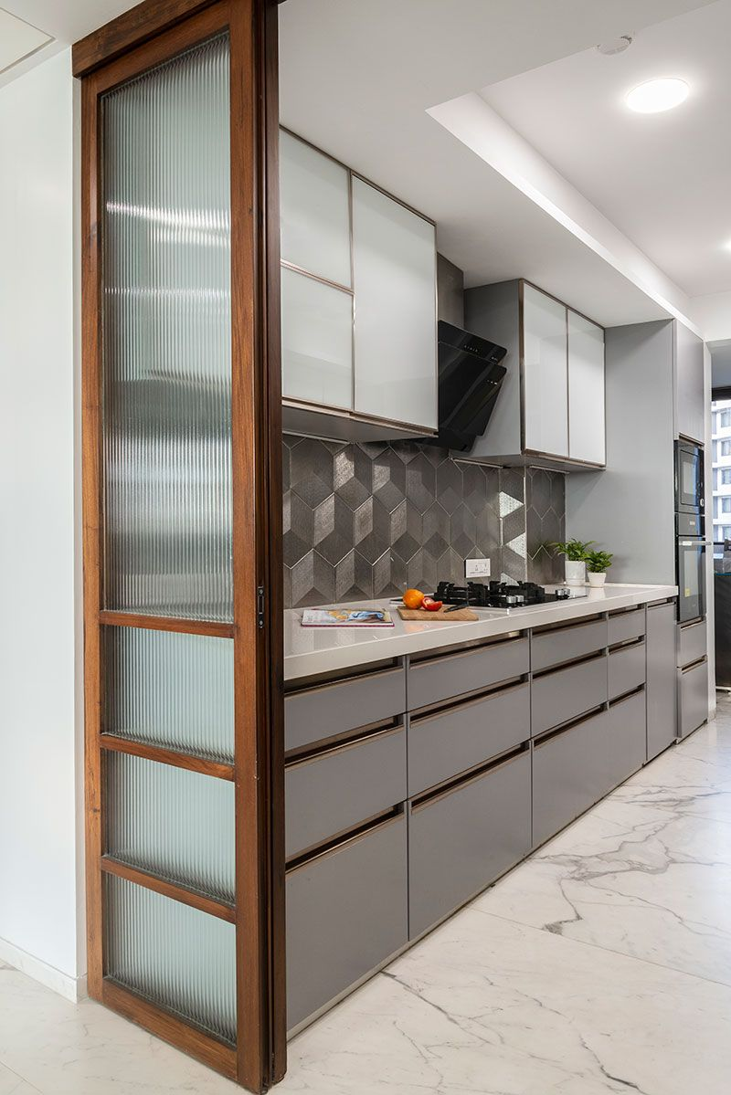 A Timeless Mumbai Apartment   dress your home   Kitchen room ...