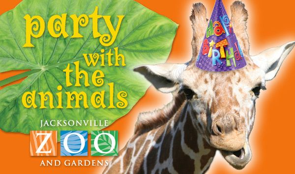 Jacksonville Zoo Catering Facility Rental Birthday Parties at