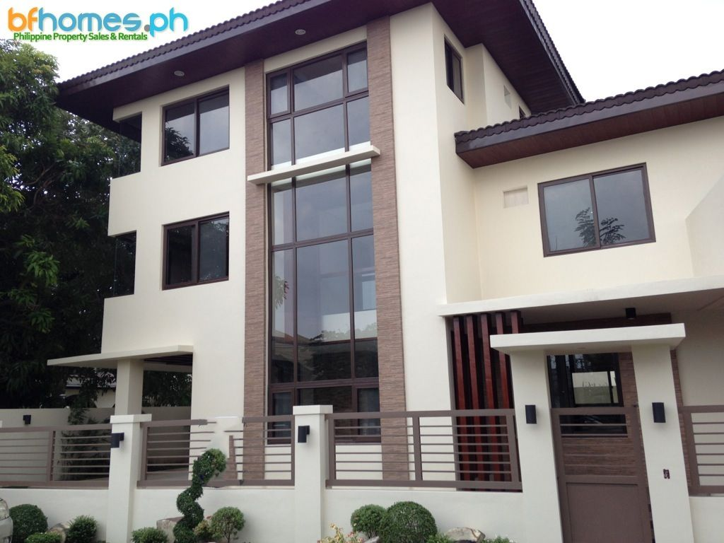 3 storey brandnew modern house for sale in bf homes http Modern house design philippines