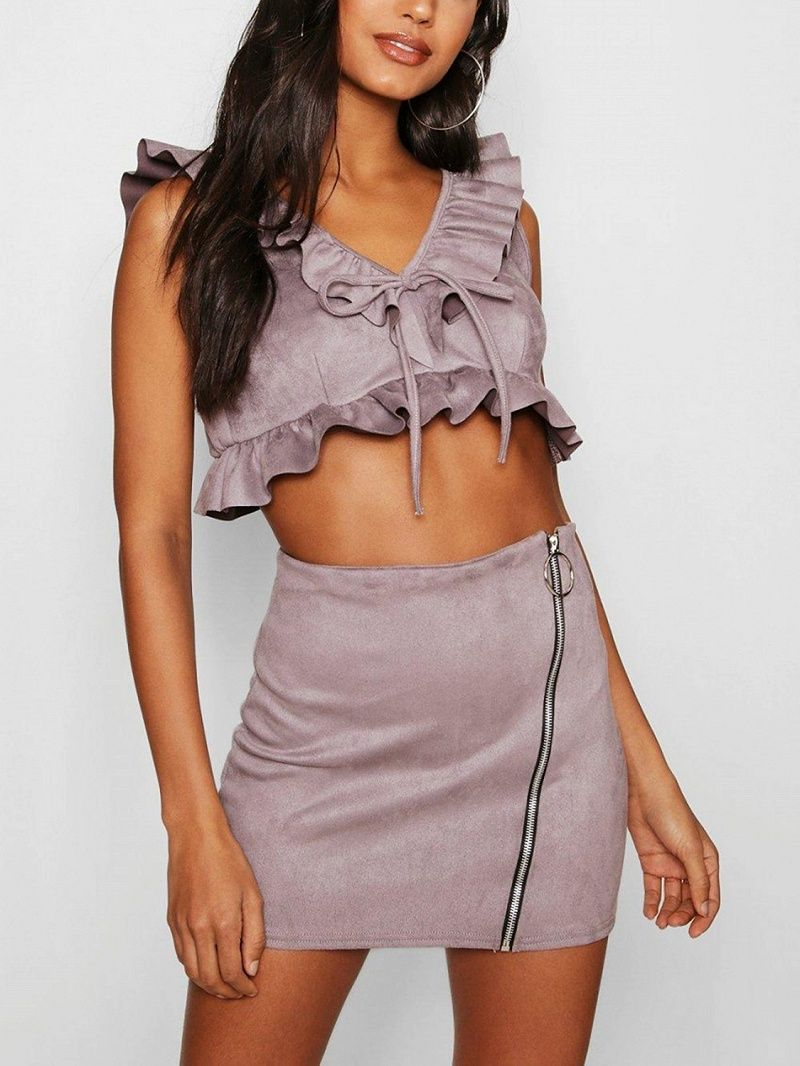 Look - Trend the shop the v front skirt video