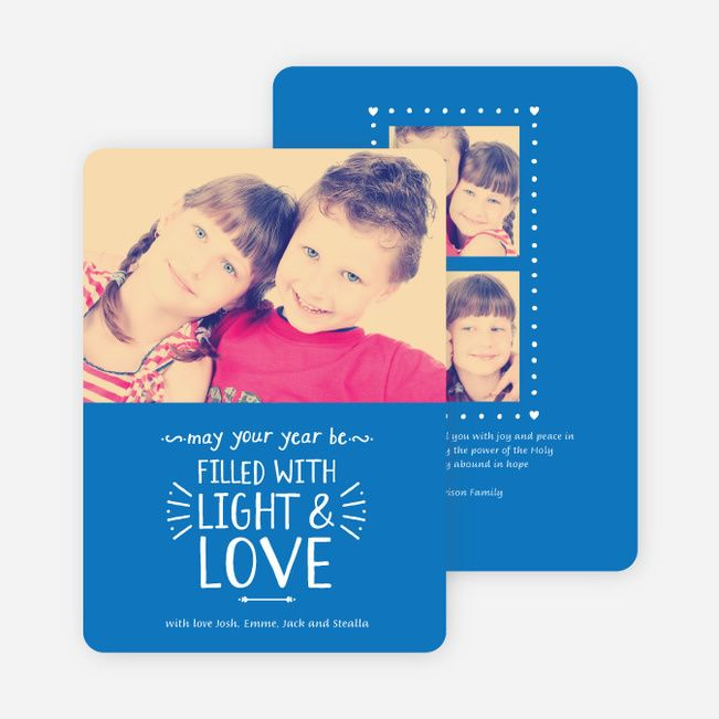 Christmas Cards Filled with Light & Love from Paper Culture