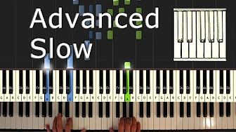 Ballade Pour Adeline Piano Tutorial Easy Slow How To Play