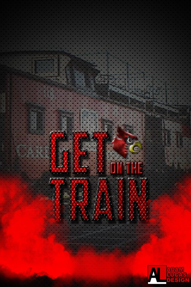 Uofl Cards Wallpaper Get On The Train Iphone Wallpaper