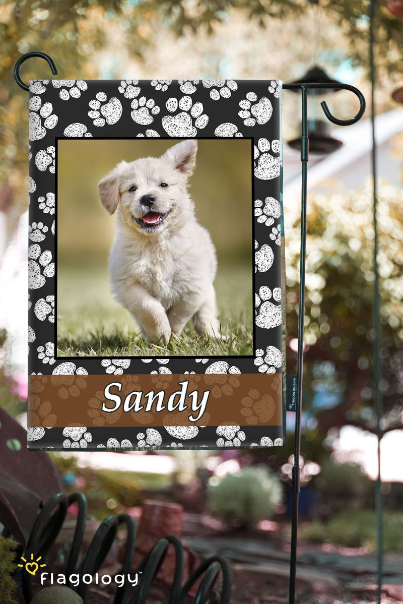 Fresh Flag Frames For Your Favorite Pet Photo! Personalize With A Picture  Of Your Dog