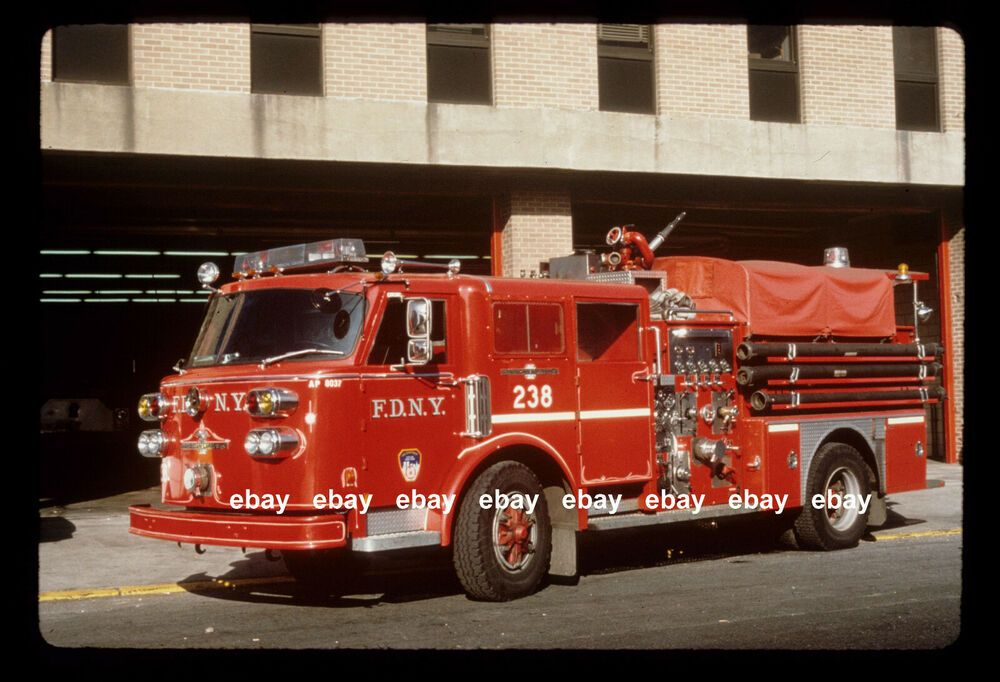 New York City Fire Engine 238 1980 American LaFrance pumper