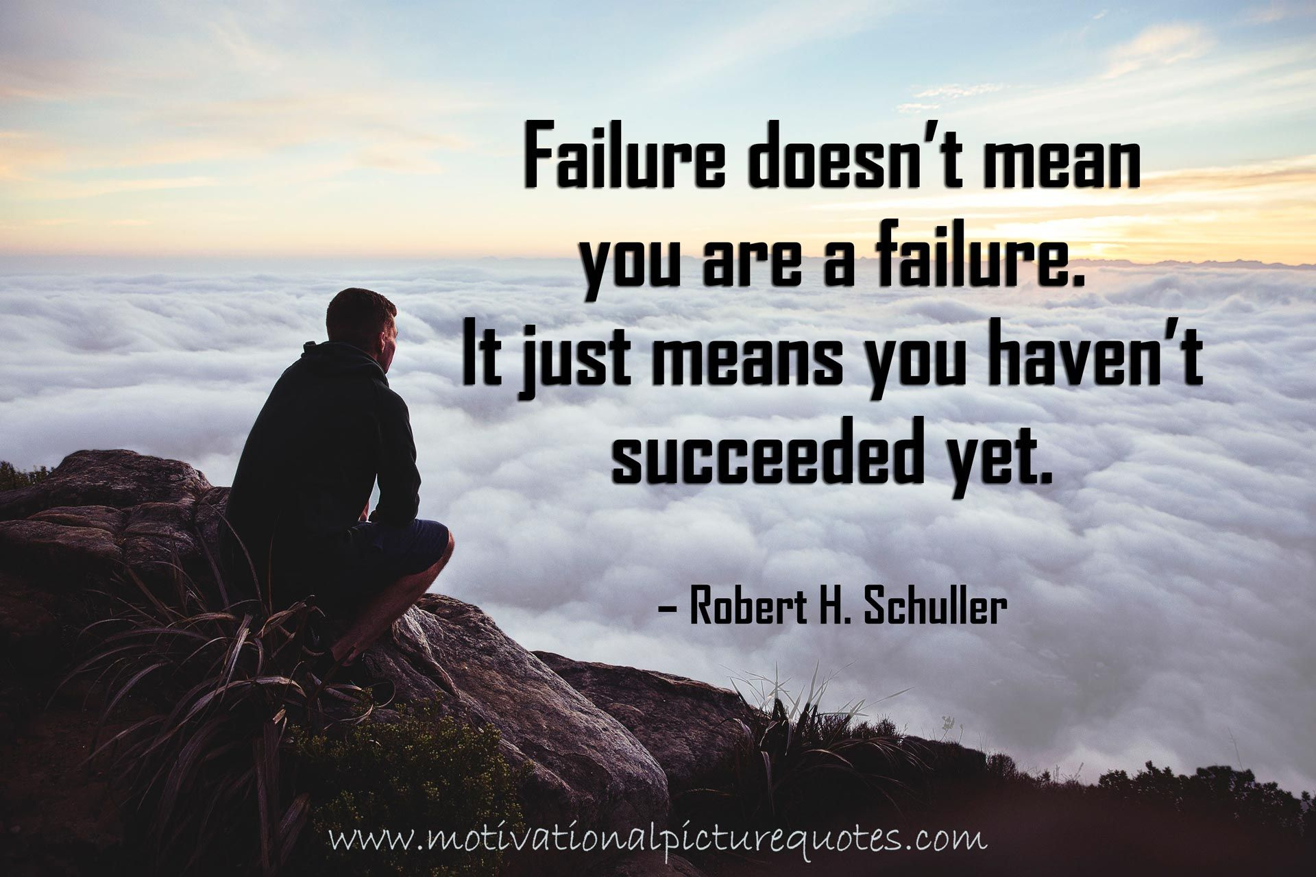 Inspirational Quotes About Overcoming Failure: Robert H Schuller Overcoming Failure Quotes Images