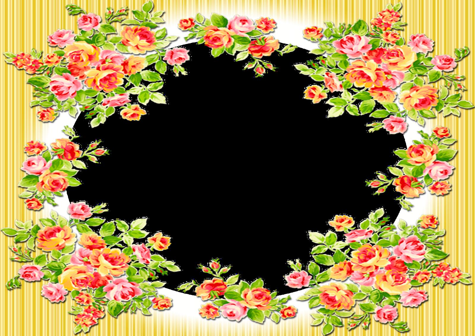 moldura+floral+amarela.png (1600×1131)