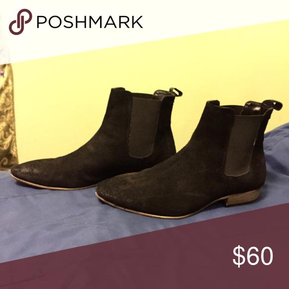 TopMan suede Chelsea boots | Boots