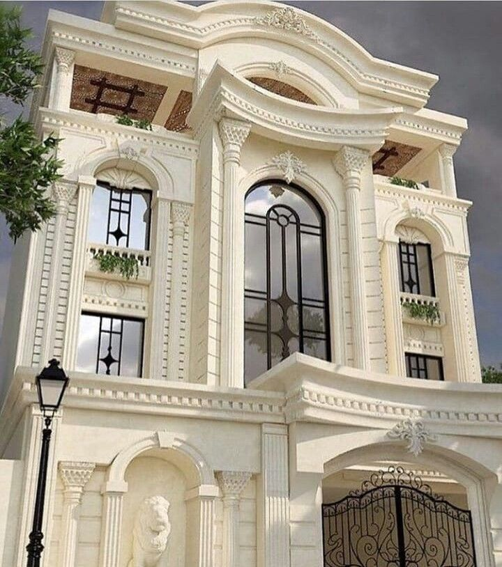 Luxury Villa Bungalow House Design Classic House Exterior Facade House