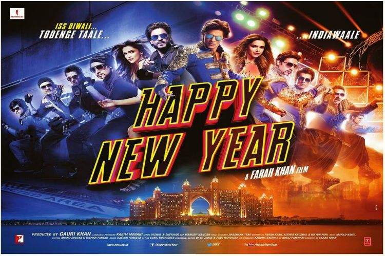 Happy New Year Launches Its Trailer Happy New Year Movie New Year Movie Happy New Year Bollywood