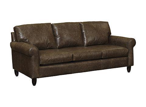 sofa option from Haverty's (mocha, smokey, or whiskey)