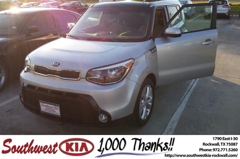You were all very friendly and did a great job. I do like the car and you were wonderful to work with. Thank you for everything you did!!!-Janet Tucker, Monday 7/4/2016 http://www.southwestkia-rockwall.com/?utm_source=Flickr&utm_medium=DMaxx&utm_campaign=DeliveryMaxx