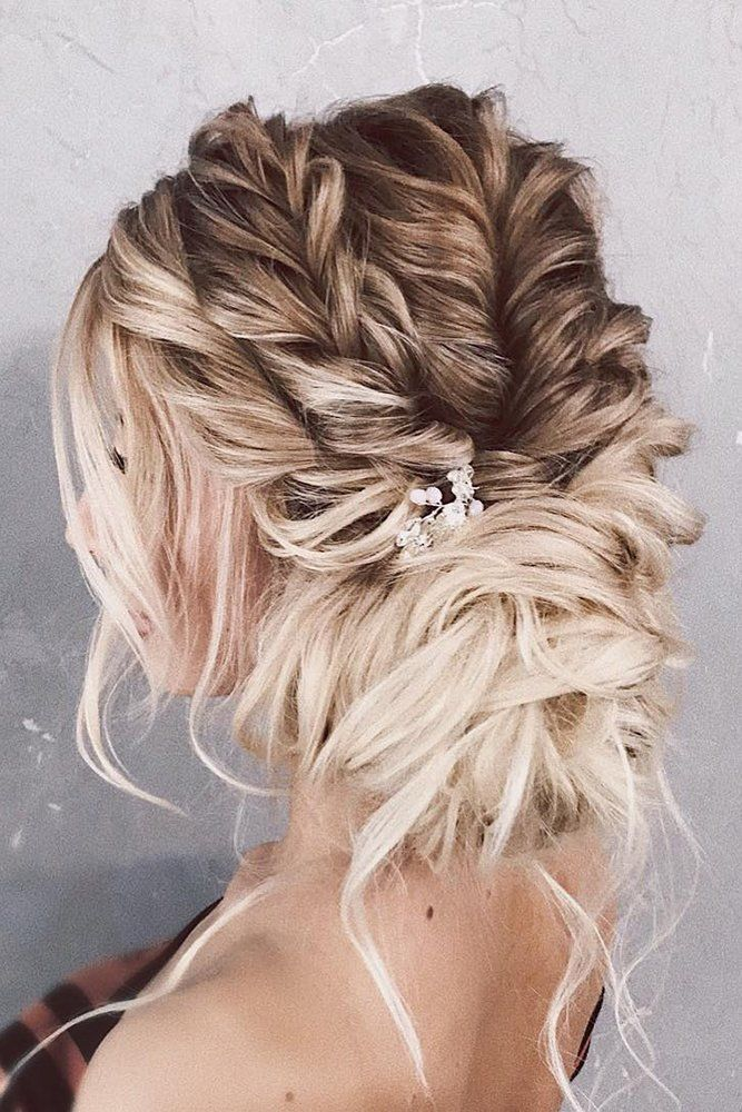 63 Mother Of The Bride Hairstyles ❤ mother of the bride hairstyles side low updo ombre textured with crystal pin belaya_lyudmila