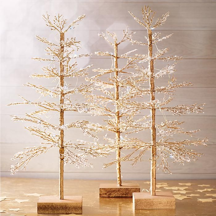 Decorative Light Up Tree Light Up Your Tabletop Pre Lit With Soft White Lights This Gorgeous Tree Will Make The Perfect Accent To Any Desk Or Mantle This