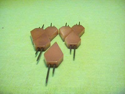 Vintage Tested Bakelite 7 Butterscotch Corn Holders by Buttonladys