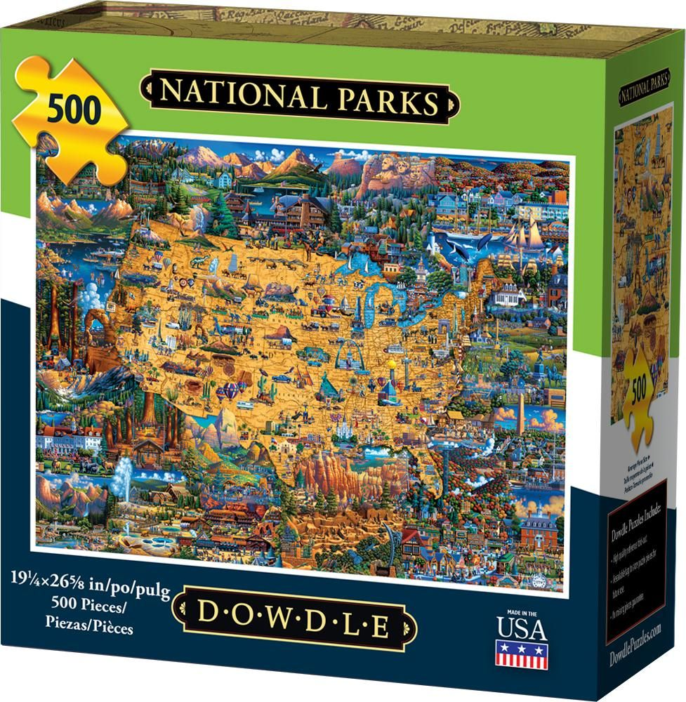 National Parks Jigsaw Puzzle in 2020 National parks