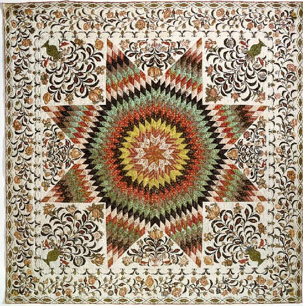 Rising Sun, 1825 - 1835. Made by Betsy Totten. Quilt Smithsonian ... : use of quilt - Adamdwight.com