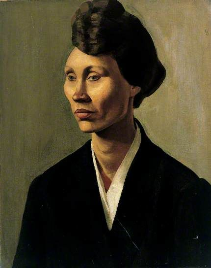 Winifred Knights, [Portrait of] Anna Fryer, 1920, oil on canvas, 50.8 x 40.7 cm (UCL Art Museum)