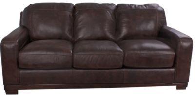 Ashley Crestwood 100% Leather Sofa