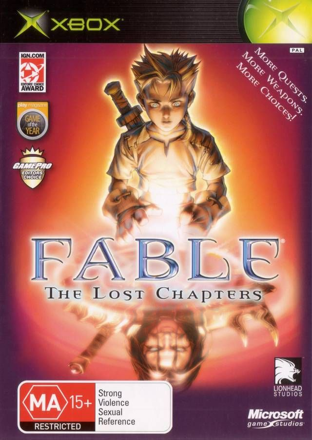 Fable The Lost Chapters | Microsoft XBOX Collection | Xbox games