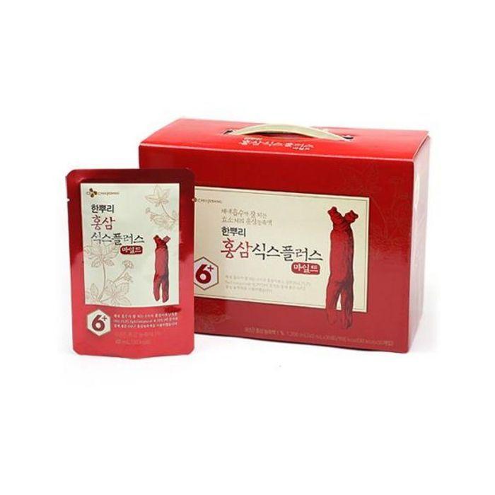 Cj-Cheiljedang] Red Ginseng Six Plus Mild Korean 40Ml Or