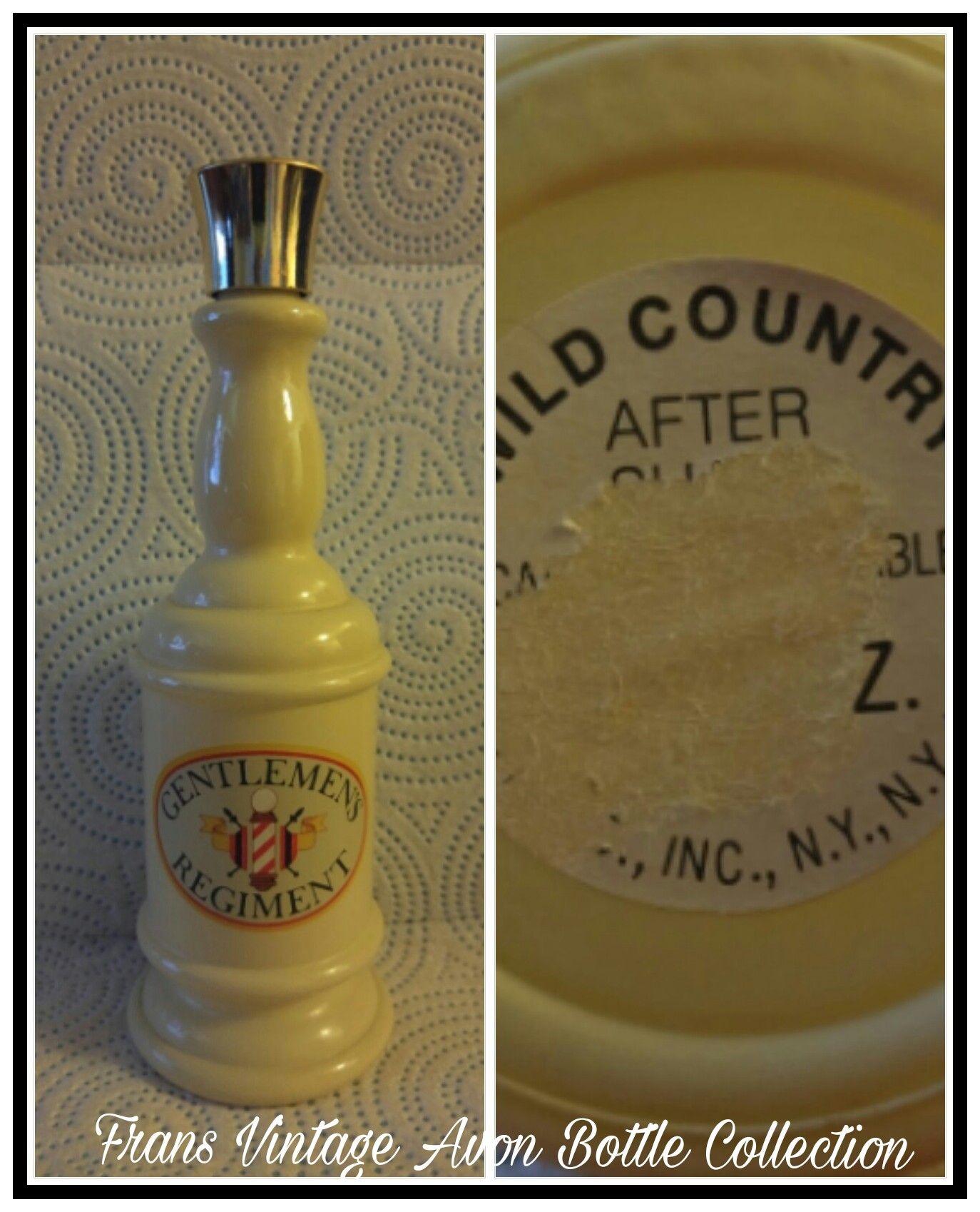Vintage Avon Gentlemen's Regiment Wild Country After Shave