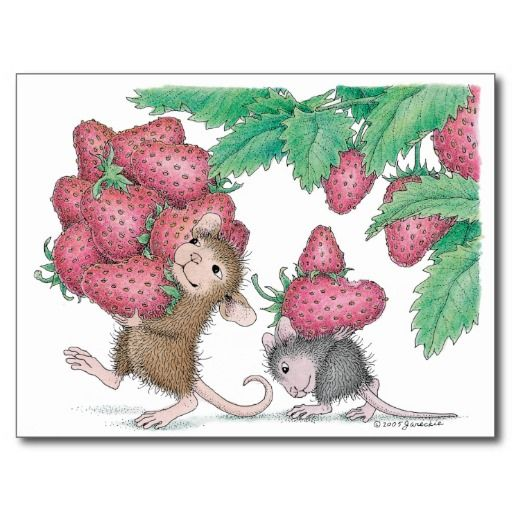 House Mouse Designs Postcard In 2020 House Mouse Stamps House Mouse Mouse Illustration