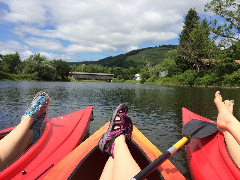 Kayaking in the Catskills