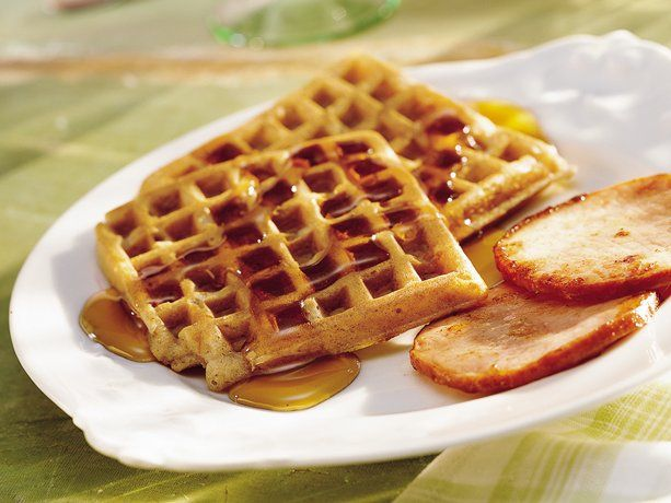 Golden Harvest Waffles Recipe Waffle Recipes Waffles Breakfast