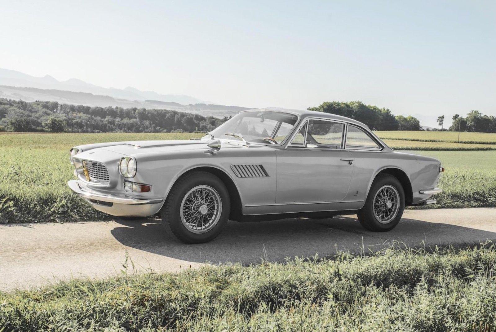 1967 Maserati Sebring 3.7L   I6, 3,694 cm³   245 hp   Design: Giovanni Michelotti, Vignale