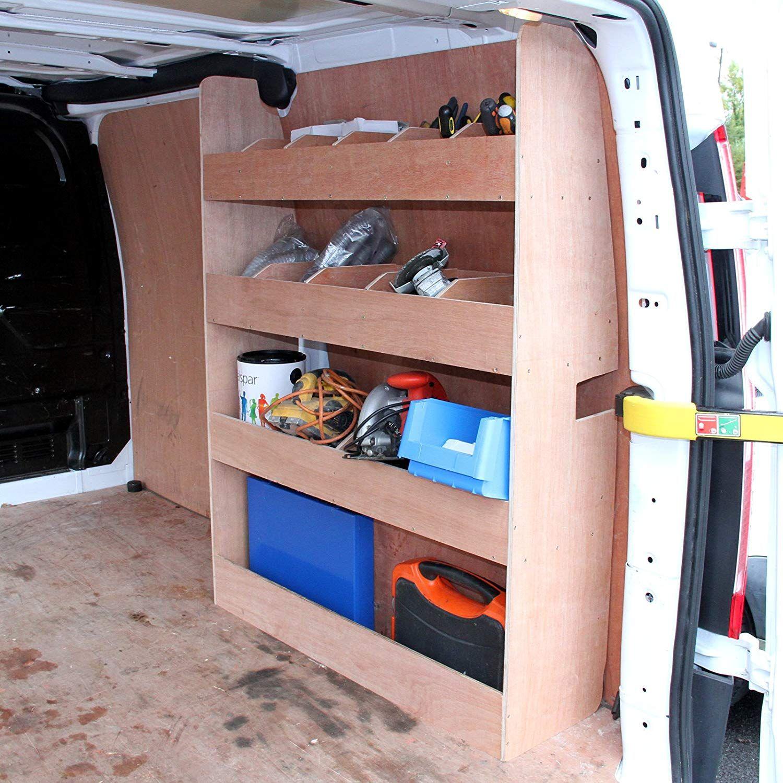 Kit De Rangement Pour Renault Kangoo Amenagement De Vehicules Utilitaires Techni Contact Camper Van Conversion Diy Van Shelving Van Racking