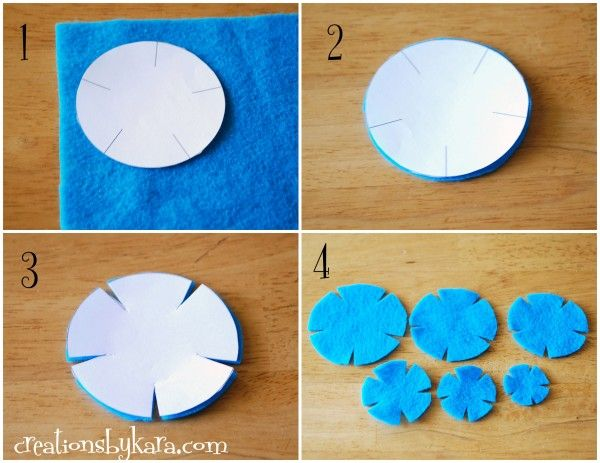 felt+bow+template Cut out the pattern and place it on your felt - bow template