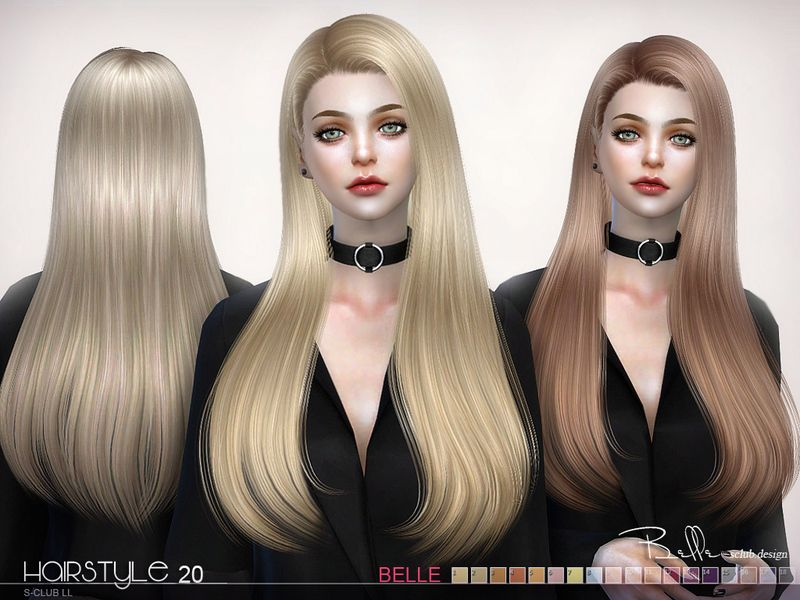 The Long Hair For The Sims 4 Found In Tsr Category Sims 4 Female