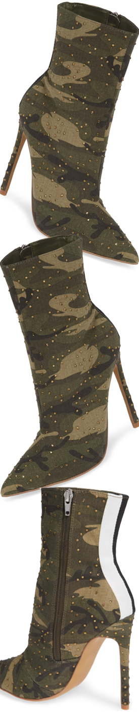f6df558aab73 STEVE MADDEN Wagu Bootie shown in Camouflage