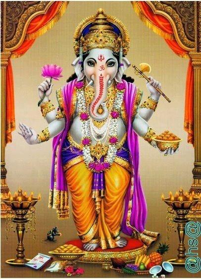 Vinayagar Animation Wallpaper Standing Ganesha Gods Lord Ganesha Ganesh Images