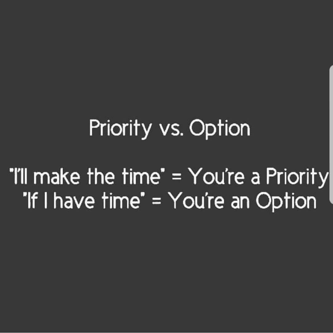 Priority Vs Option Priorities Quotes Priority Quotes