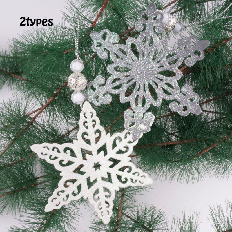 Christmas decoration Christmas tree pendant white Christmas - white christmas tree decorations
