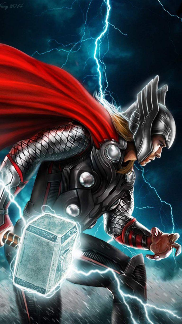Pin By Dheeraj On Dheeraj Thor Wallpaper Thor Artwork Marvel Thor